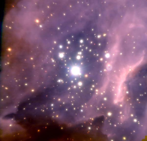 Star-forming region RCW 38