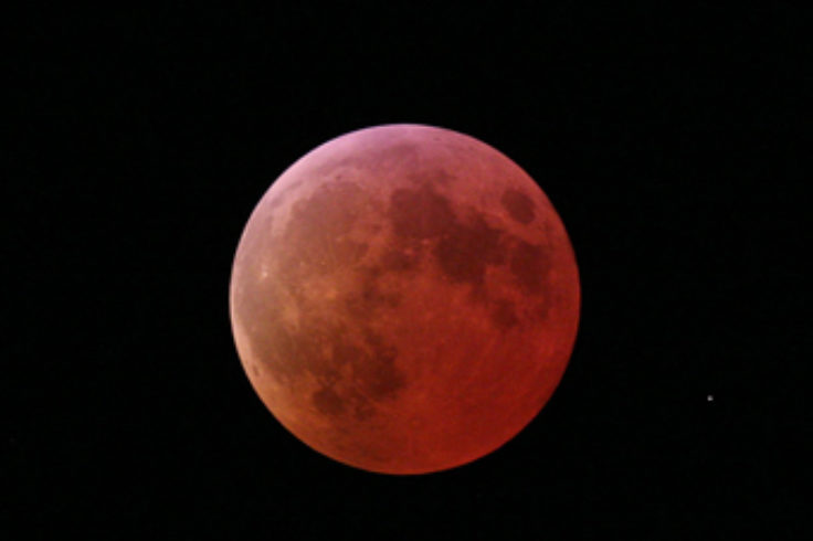 Totally Eclipsed Moon