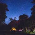 RV park under the stars