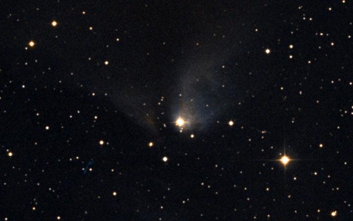 Bright Star, Faint Nebula
