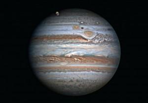 Digital imaging of Jupiter