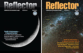 Reflector's youth-in-astronomy issues