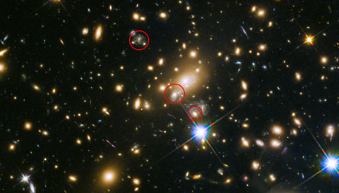 Wide-field View of Supernova Refsdal