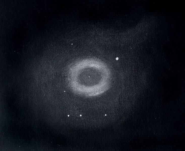 Ring Nebula sketch