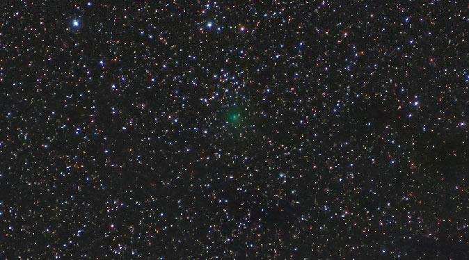 Comet ASASSN1 by Robert Beal, Oct. 18, 2017