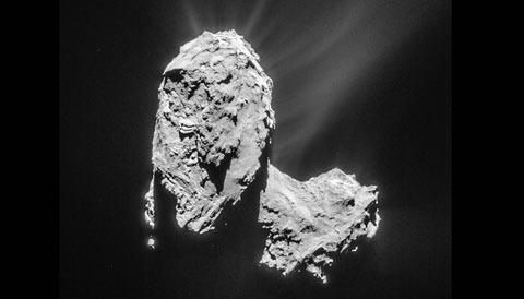 Rosetta's Comet 67P
