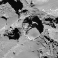 sinkhole on Comet 67P