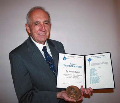 Antonín Rükl and Cena Františka Nušla award