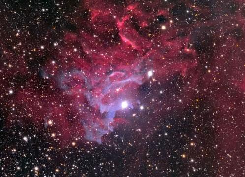 Persistent Dust, Impermanent Nebula