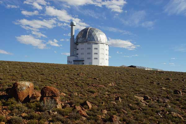 Exterior view of SALT Telescope