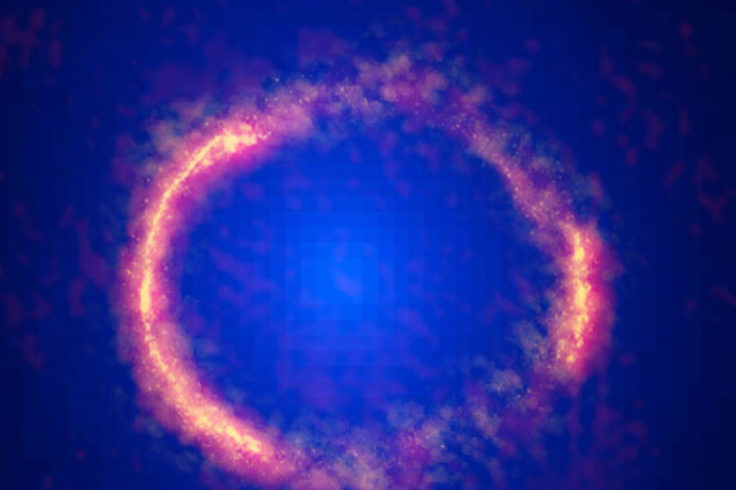 Einstein Ring of Fire