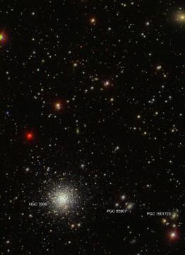 Bright globular, dim galaxies