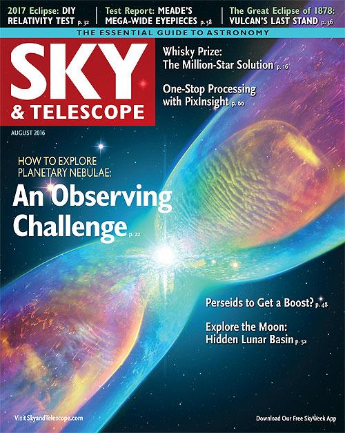 August 2016 Sky & Telescope
