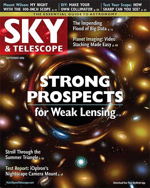 Sky & Telescope Magazine - September 2016