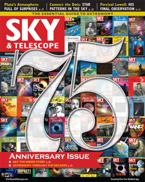 Sky & Telescope November 2016 Issue