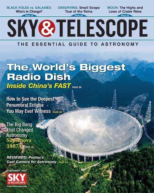 Sky & Telescope - February 2017