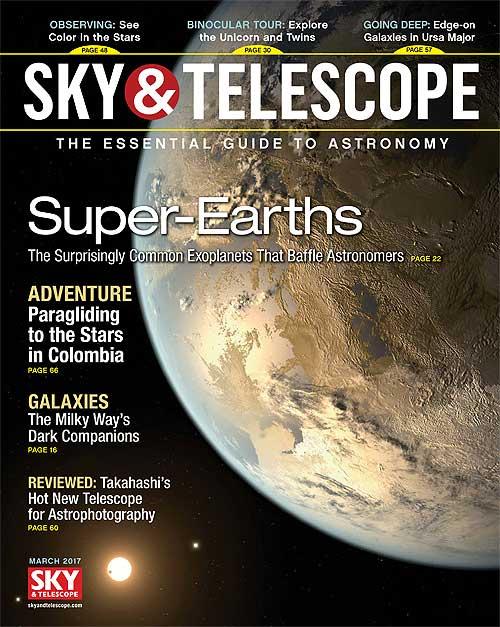 Sky & Telescope March 2017