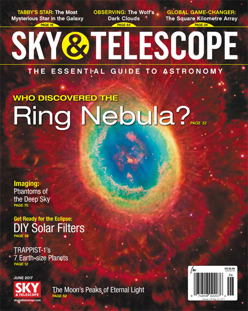 Sky & Telescope Magazine - June 2017