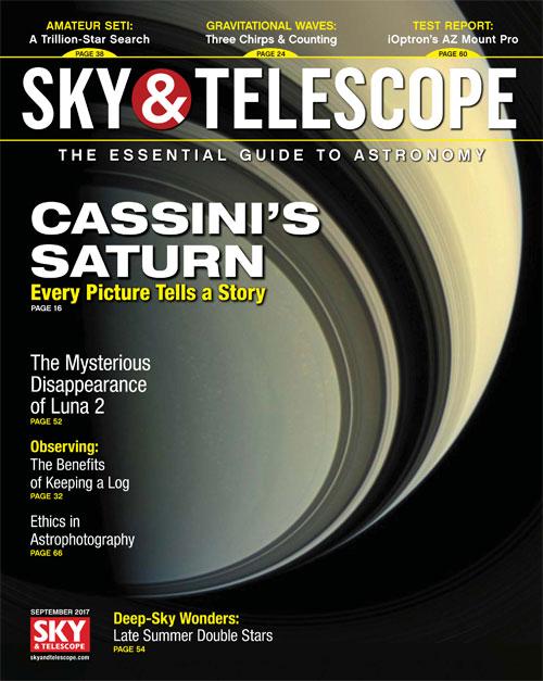 Sky & Telescope Magazine - September 2017