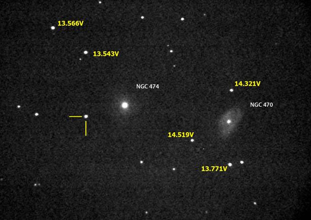 Supernova in Pisces