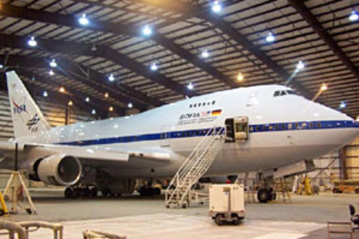 SOFIA in Hangar