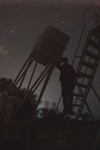 Nighttime observing in northern Chile
