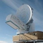 The South Pole Telescope saw first light in February 2007.