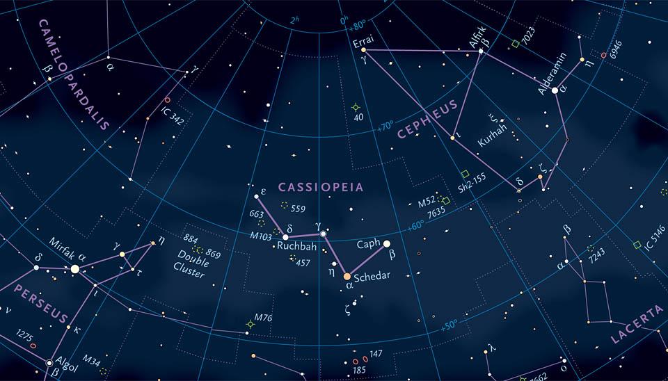 Details from Sky &Telescope's Celestial Globe