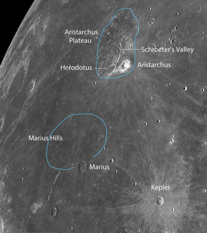 Field of a Moon Observer's Dreams