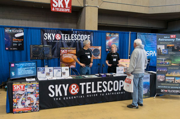 Sky & Telescope booth