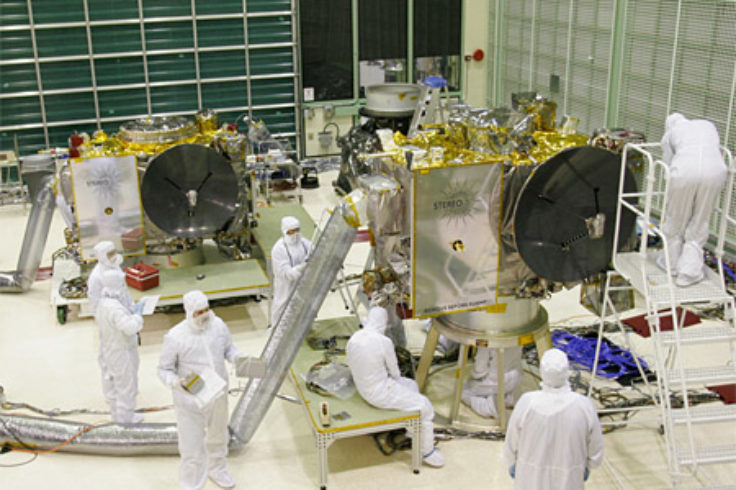 Stereo A and B before launch