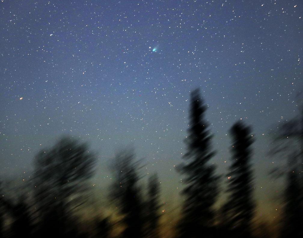Comet SWAN heads north
