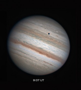 S&T equipment editor Sean Walker used a 12½-inch reflector to capture Jupiter on July 28, 2011, from Masil Observatory East in New Hampshire. Note the variegated atmospheric bands. Sean Walker