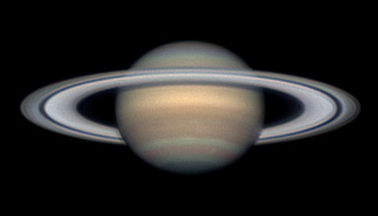 Saturn on April 12, 2012