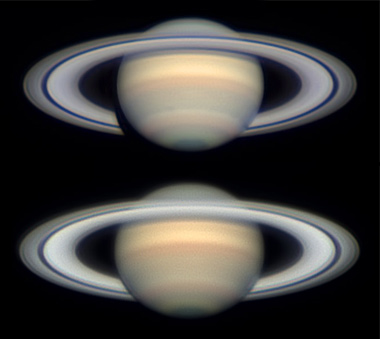 Saturn on March 2 and April 24, 2013