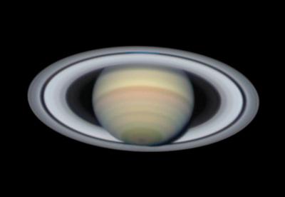 Saturn on Sept. 17, 2017