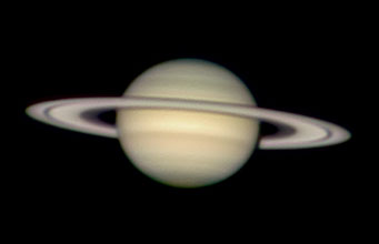 Saturn on Feb. 7–8, 2008
