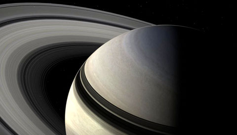 Splashy Saturn At Its Best and Brightest