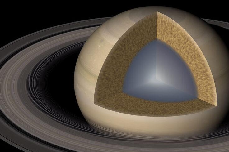 New model of Saturn's interior