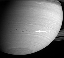 """Storm Alley"" on Saturn"