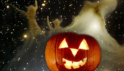 Spooky Nebulae for Halloween Nights