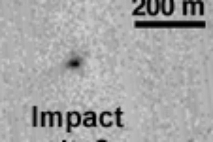 Schiaparelli's impact site?