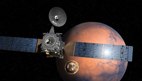 ExoMars at the Red Planet