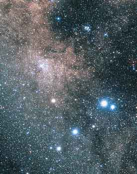 M6 and M7 open clusters