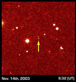 Sedna discovery image