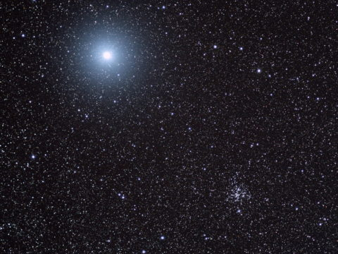 M41 open star cluster