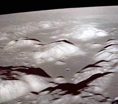 The truth of the Moon's mountains from orbit
