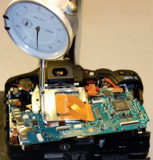Disassembling camera body