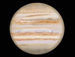 Color version of Jupiter sketch