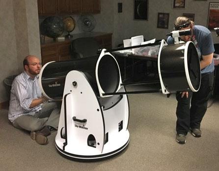 Sky-Watcher telescope checkout